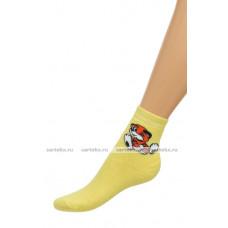 Носки детские-махровые Д-2М тигренок